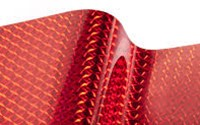 "1/4"" Mosaic Cherry Red"