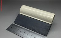 Black Smoothie Tube Squeegee 100mm
