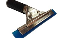 Window Squeegee with Blue Squeegee Blade