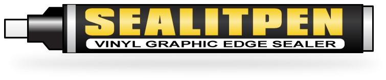 Sealitpen Vinyl Graphic Edge Sealer Decrastrip